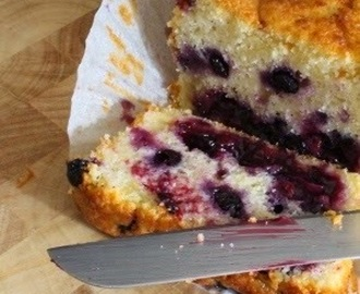 Sticky Lemon & Blueberry Loaf Cake
