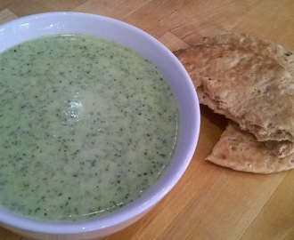 Cream of broccoli & stilton soup