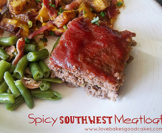Spicy Southwest Meatloaf
