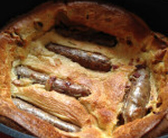 Vegetarian Toad in the Hole with Onion Gravy