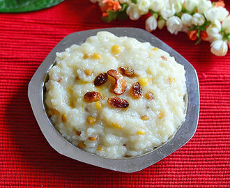 Chakkara Pongali – Andhra Sweet Pongal Recipe With Sugar, Milk