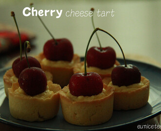 Cherry Cheese Tart 樱桃芝士垯