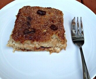 Bread and Butter Pudding Recipe in De'Longhi Multifry