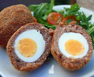 Vegetarian Jerk Spiced Scotch Egg