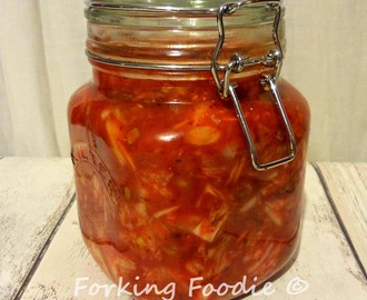 Easy Homemade Kimchi (includes Thermomix method)