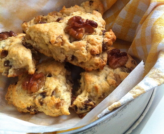 Walnut & Date Scones