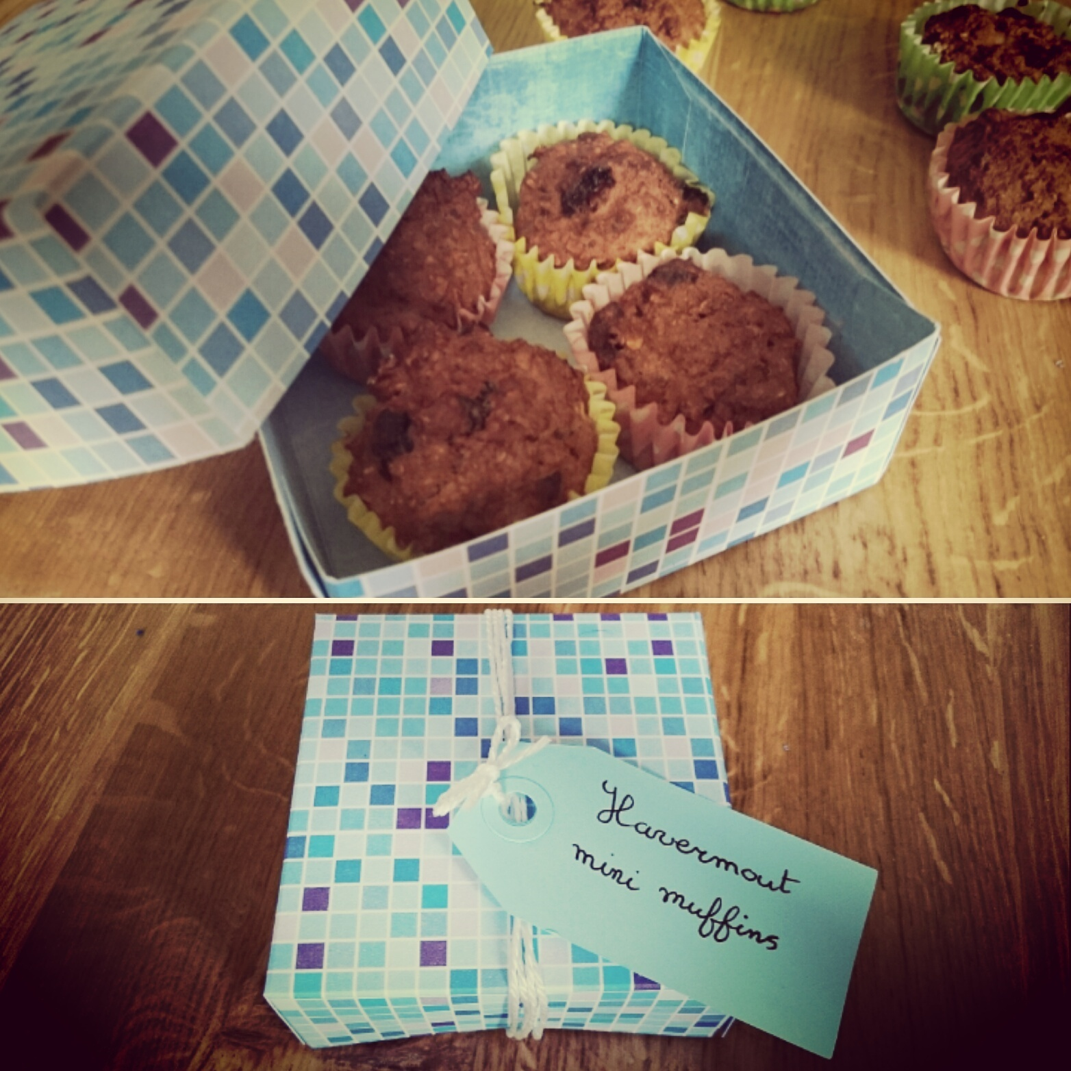Havermout mini muffins