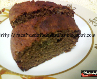 Bolo Light de Banana com Canela e Chocolate  da BeteChef