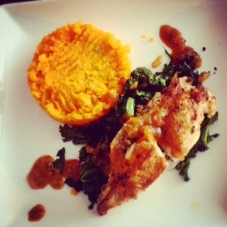 Recipe corner: Haggis stuffed chicken with carrot and ginger mash and orange and whisky sauce