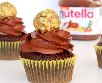 Nutella Lava Cupcakes | Eggless - YouTube