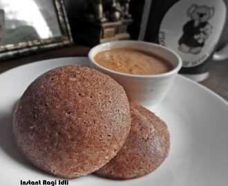Instant Ragi Idli| Ragi Recipes| Breakfast Recipes