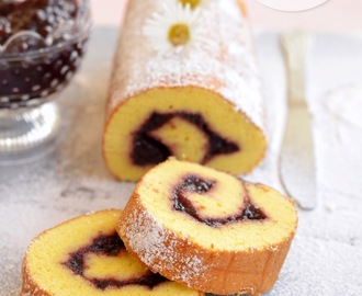 Roll cake giapponese (rotolo dolce)