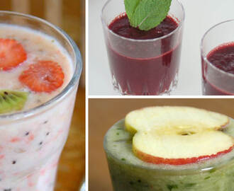 'Looking smooth' met deze top 3 smoothies van Peter!