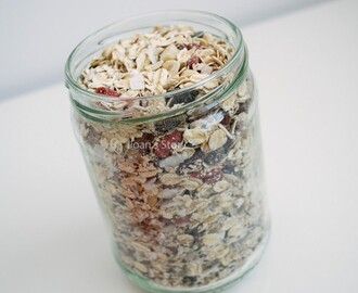 Recept: superfood muesli