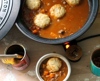 Mum's Beef Stew & My Dumplings