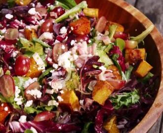 Jamie's Salad with Maple Red Wine Vinaigrette