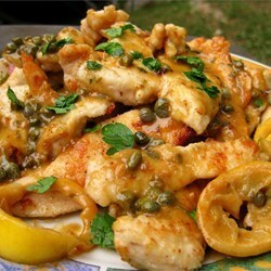 Breast of Chicken Piccata