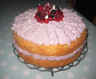 Summer Fruits Sponge