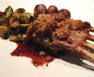 Crusted Baby Rack of Lamb