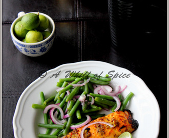 Bong Mom's Aam Kasundi Glazed Terrific Broiled Salmon