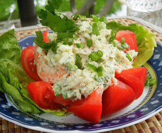Summer Seafood Luncheon Salad