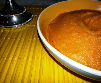 Sweet Potato Mash / Bataattimuussi