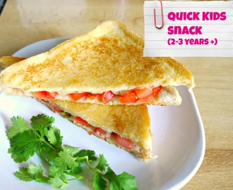 Tomato Salsa Toasty | For Kids – Part 1