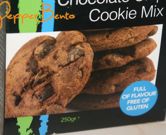 Feel Free Gluten Free Double Chocolate Chip Cookie Mix Review!