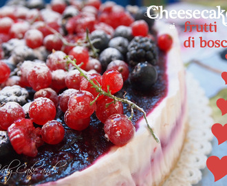 Cheesecake quasi light ai frutti di bosco