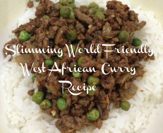 Slimming World Friendly West African Curry Recipe