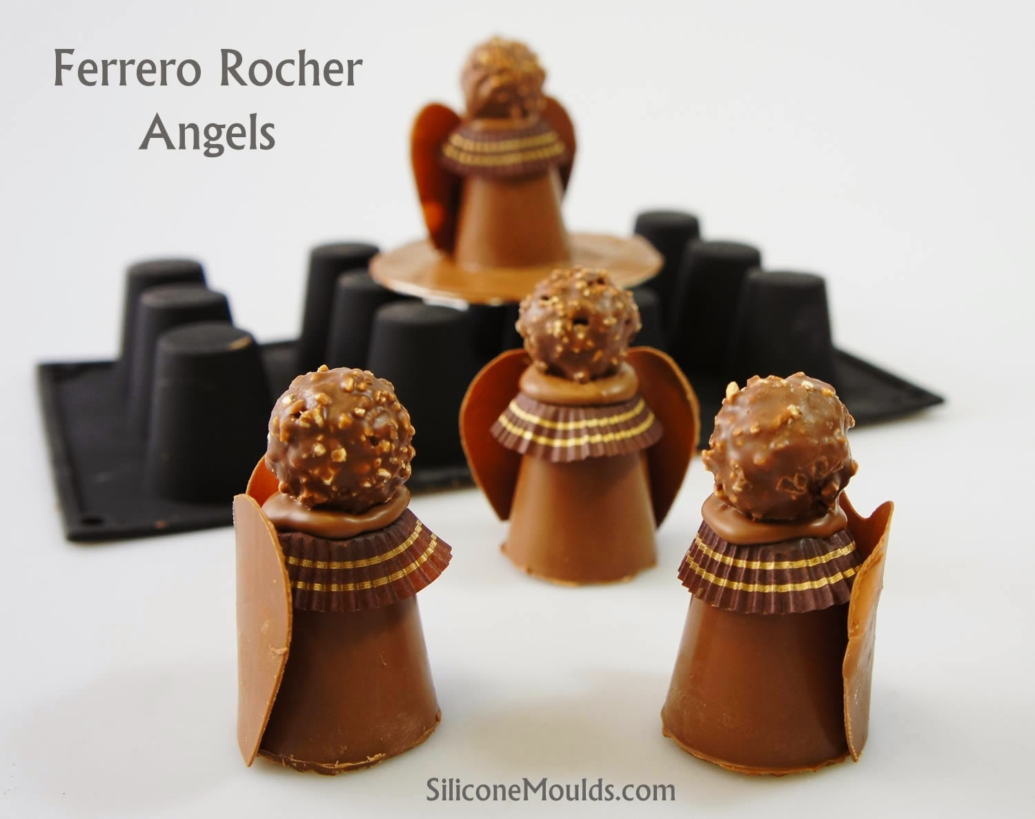 Ferrero Rocher Angels - Easy To Make and SO Darn Cute !