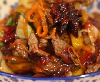 SWEET STICKY PLUM CHILLI LAMB