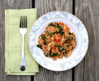 20 Minute Summer Couscous Salad