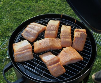 Toykes for boykes: zalm op de smoker