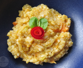 Vauvalle: Kana-kasvirrisotto -  Baby Food: Chicken Vegetable Risotto