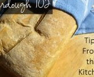 Sourdough 102: Tips from the Kitchen