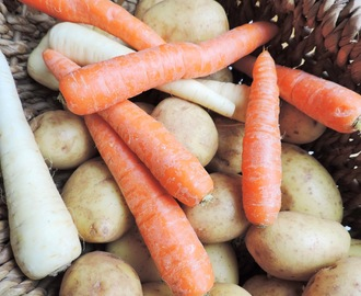 Vegetable Side Dish 1 - Carrots with Ginger