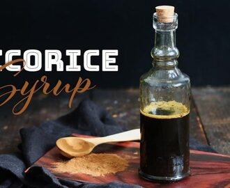 Homemade Licorice Syrup