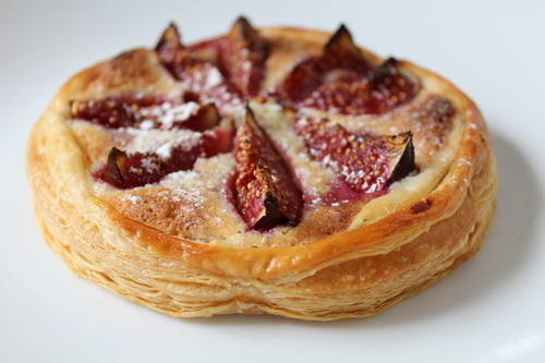 Fig and Hazlenut Frangipane Tarts