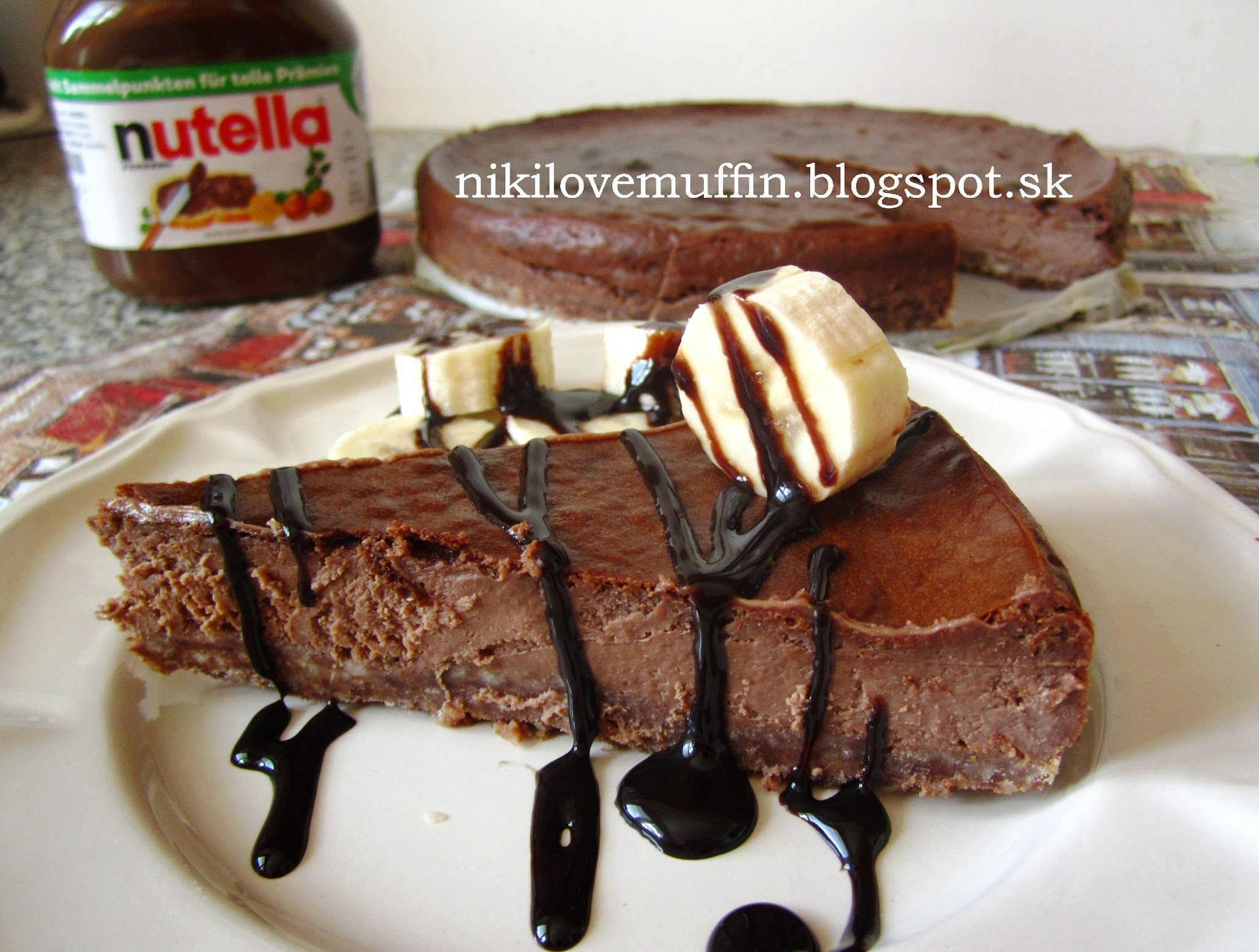 Nutellový cheesecake