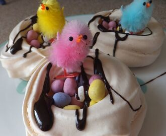 Gluten-free, Dairy-free Easter biscuits and nests