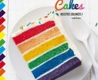 :: Rainbow Cake ☆ Ganache chocolat & glaçage au cream cheese ::
