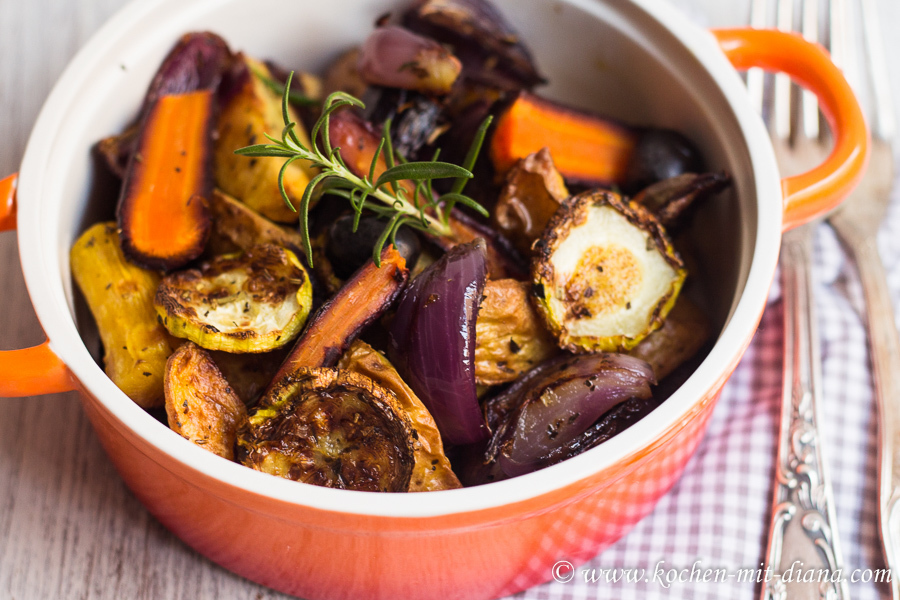Ofengemüse/ Roasted vegetables