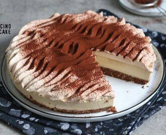 No-Bake Cappuccino Cheesecake