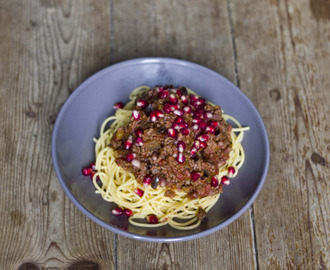 Bolognese Orientale: Comfort Food for Rainy Days Jedes Mal, wenn...