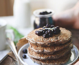 Healthy Eating  : These cinnamon raisin oat bran pancakes have a combination of oat bran and buckw…