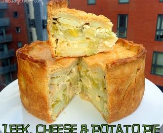 Leek, Cheese & Potato Pie: GBBO Week #5