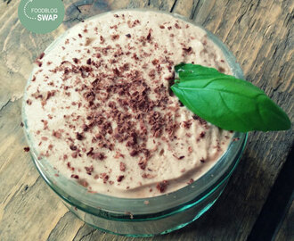 Foodblogswap – Nutella mousse