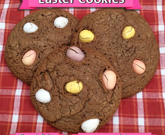 Easter Chocolate Mini Egg Cookies