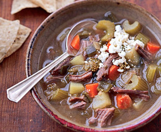 Mexican Beef Soup